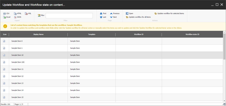 Workflow Management SPE Module