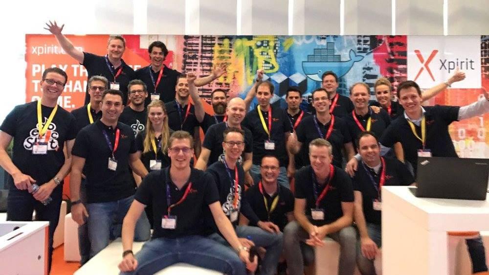 Xpirit team at TechDays
