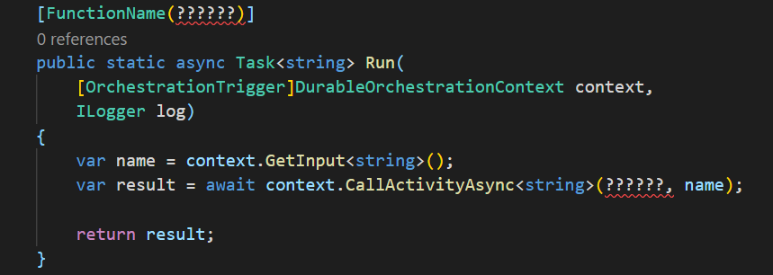 How to name your Azure Functions