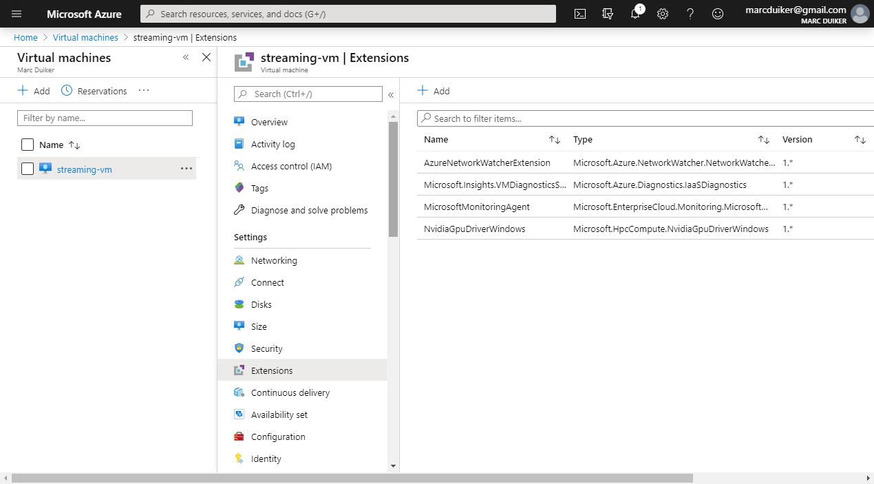 Azure Portal Extensions