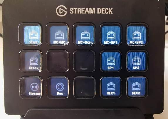 Stream Deck hardware.